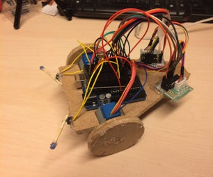 Super Simple and Cheap Arduino Bumper Robot Using 28BYJ-48 Steppers