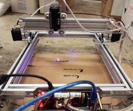 CNC 500mW Laser Engraver
