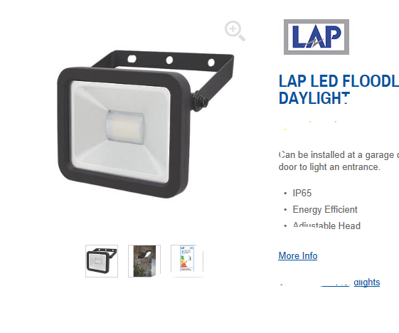 LED Floodlight Teardown