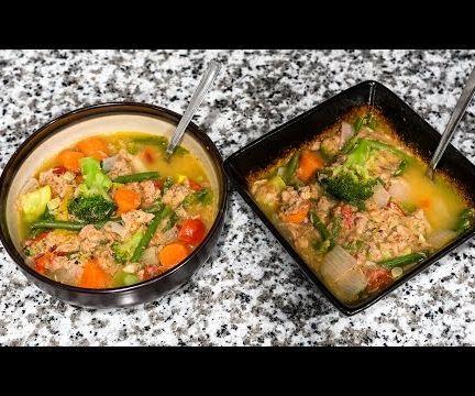Cheap & Easy Tuna Veggie Soup