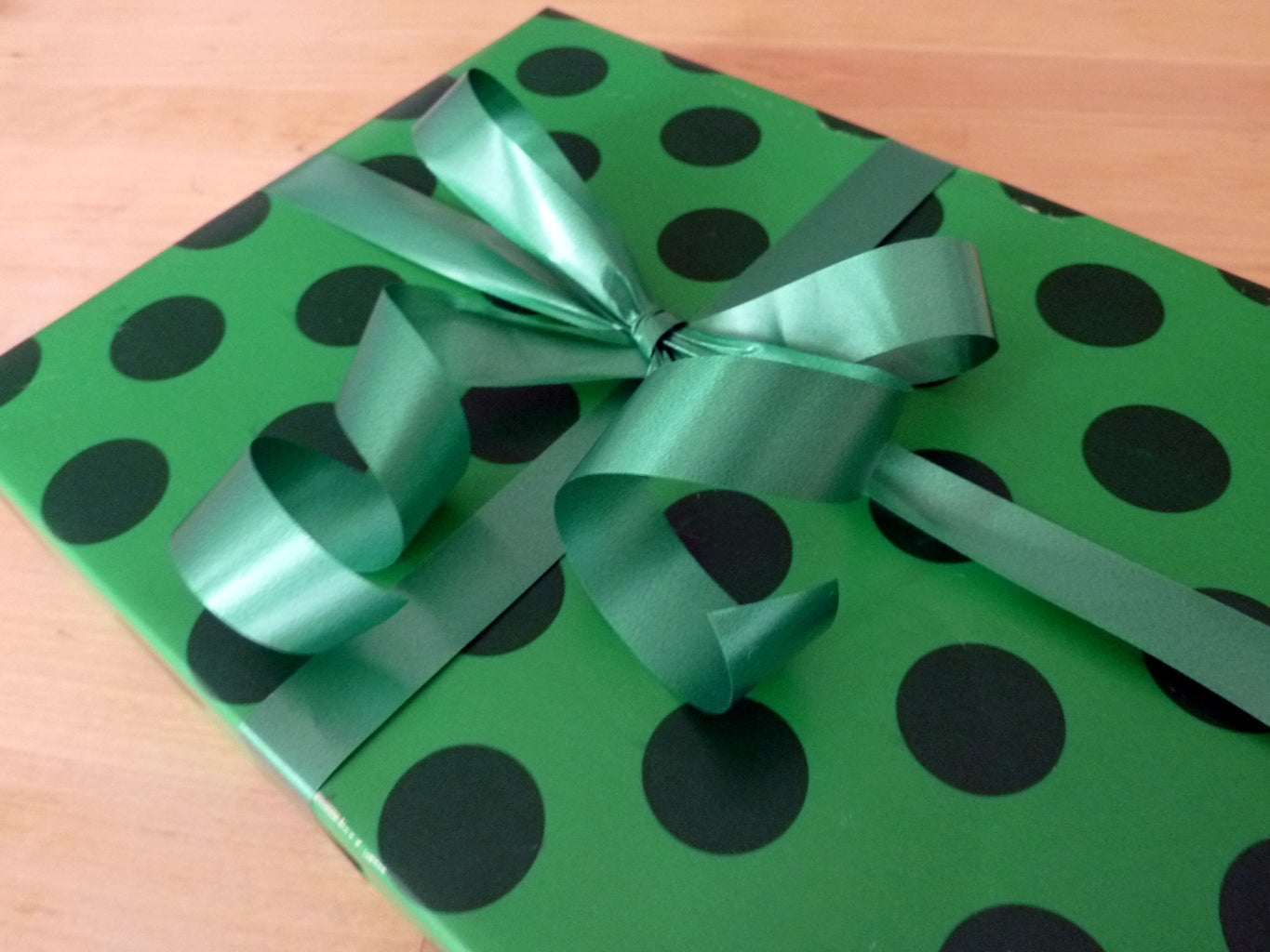 How to Wrap a Present (using Only 3 Pieces of Tape!)