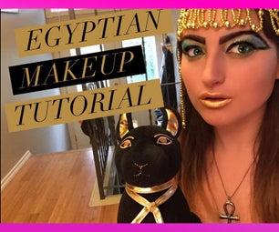 Egyptian Halloween Makeup