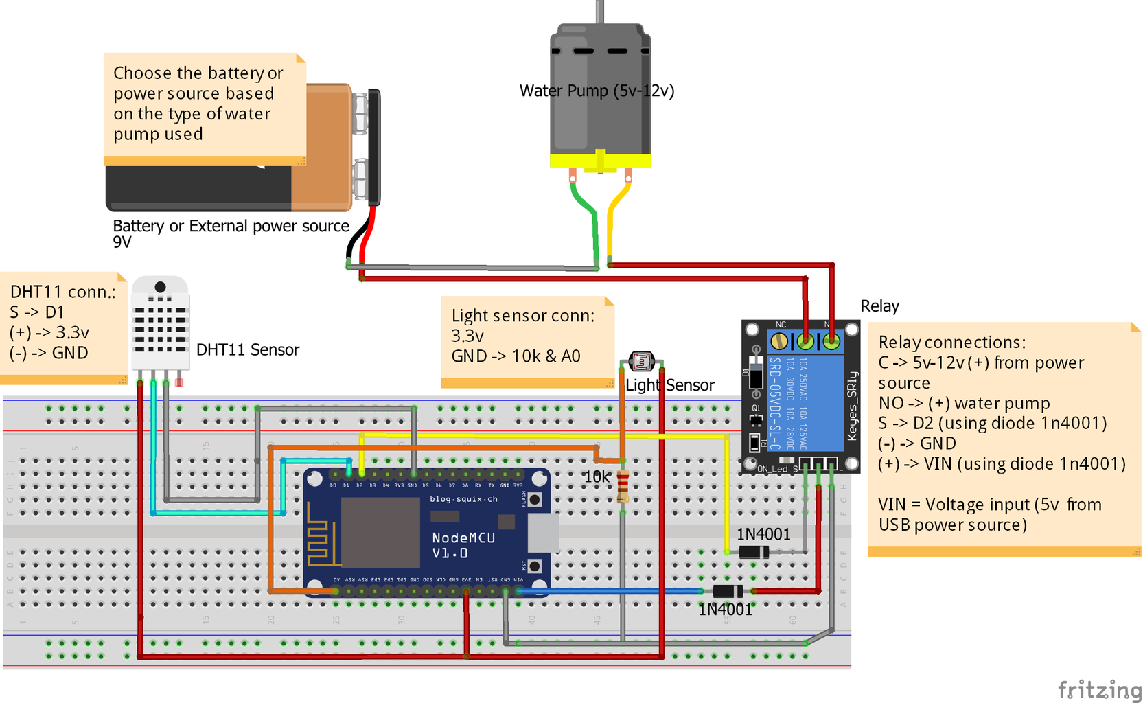 Use This Schematic and Test It on a Protoboard