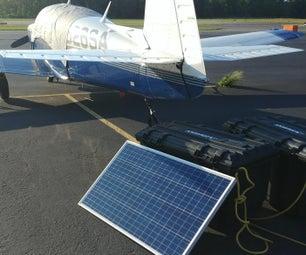 Solar Airplane Preheater