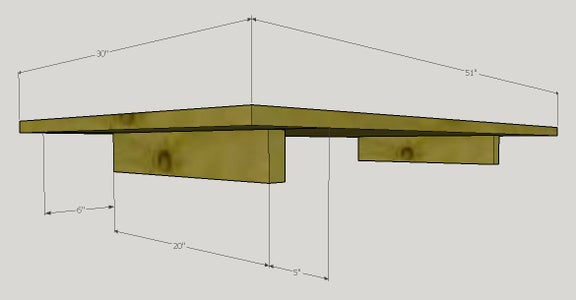 Make Wooden Top and Electrical Box