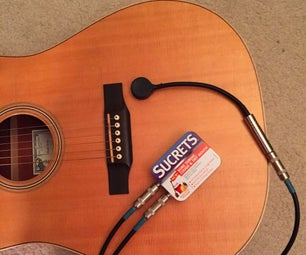 Guitar Contact Microphone Preamp