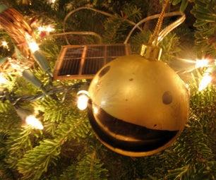 Make an Animatronics Pac Man Tree Ornament