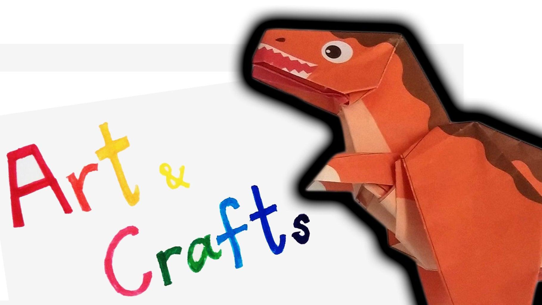 Show How to Fold Dinosaur Tyrannosaurus Part 1 and 2 ORIGAMI How to Fold Dinosaur Tyrannosaurus Part 1 and 2 Origami