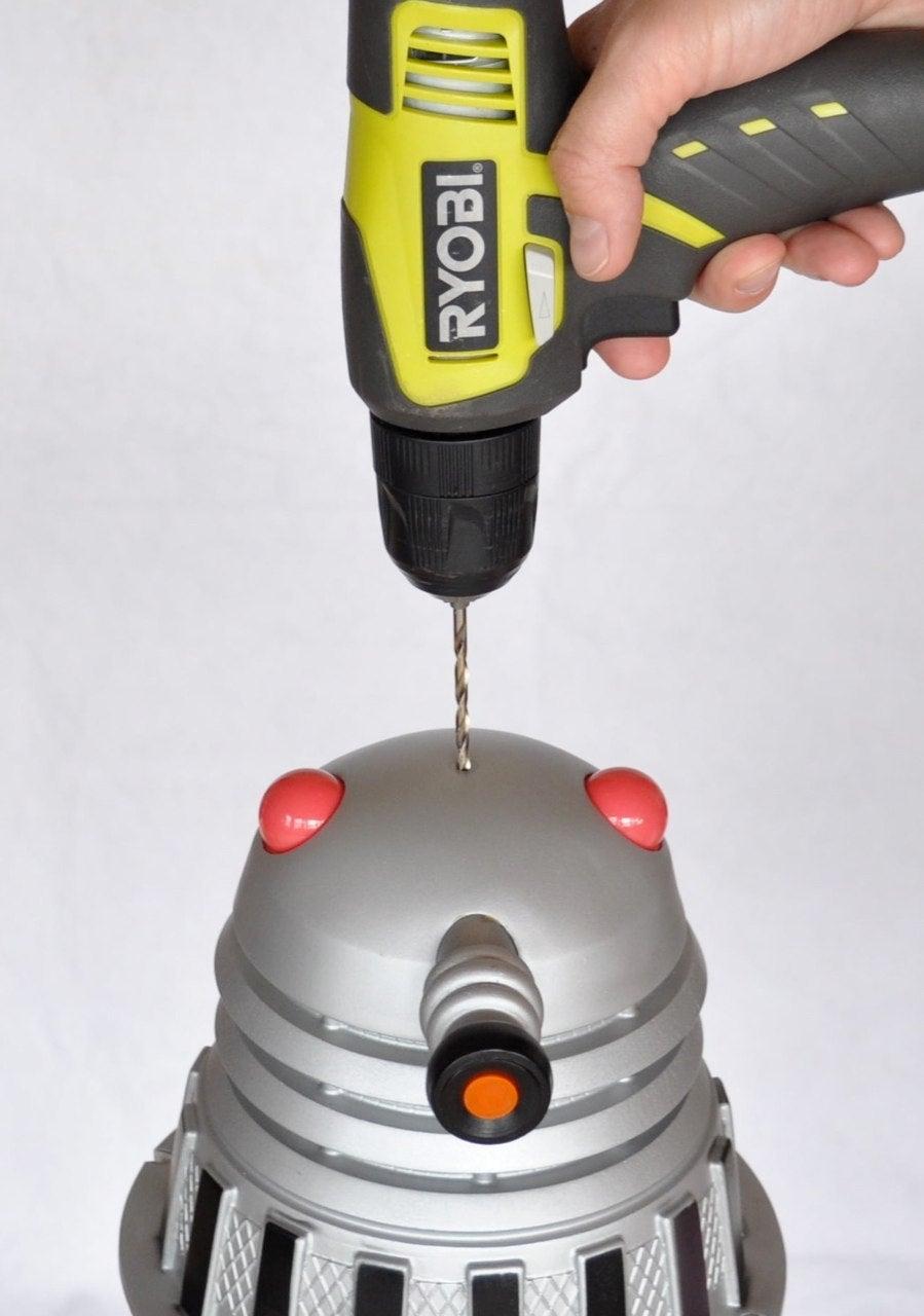 Drill Dalek Head
