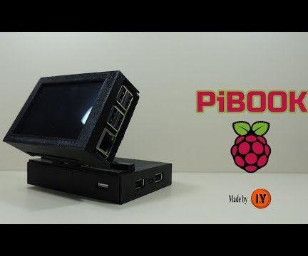 PiBOOK - Mini Computer With Raspberry Pi