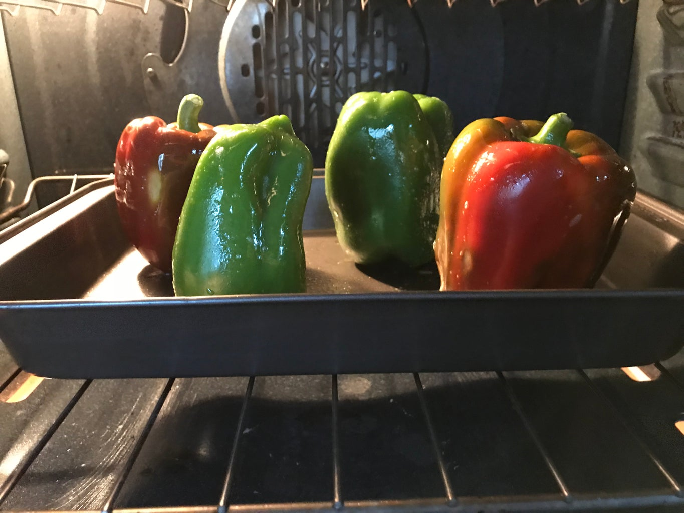 Roast the Peppers