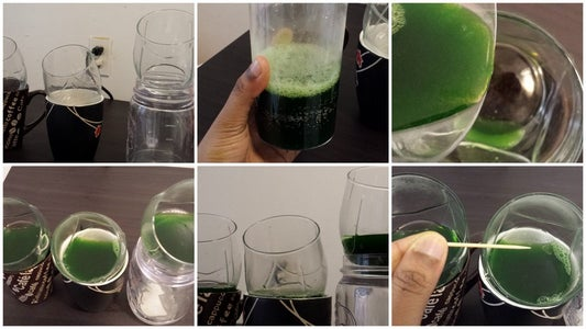 Pour It Into Glass Container