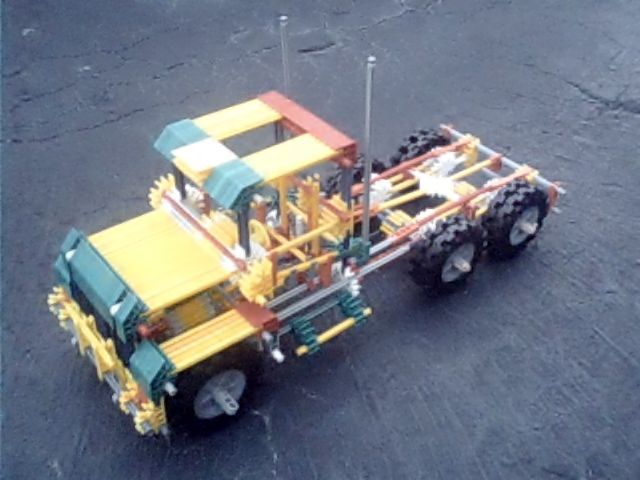 Knex Big Rig Prototype
