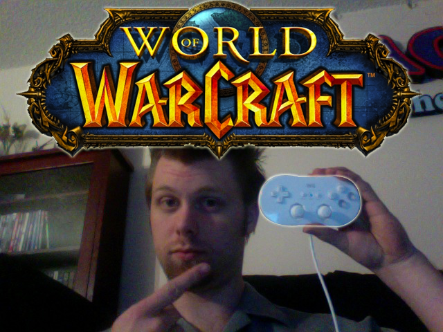 Play WoW with a Wiimote
