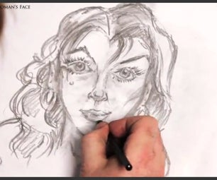 How to Draw a Female's Face