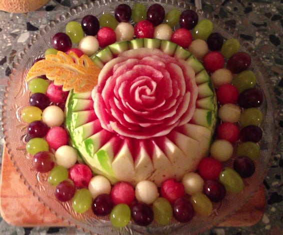How to Make a Watermelon Rose