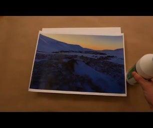 DIY Transfer a Photo to a Canvas