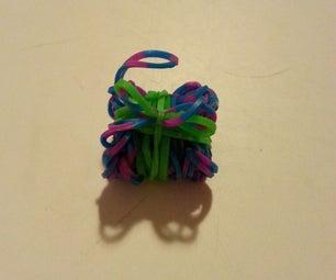 Rainbow Loom Present Charm