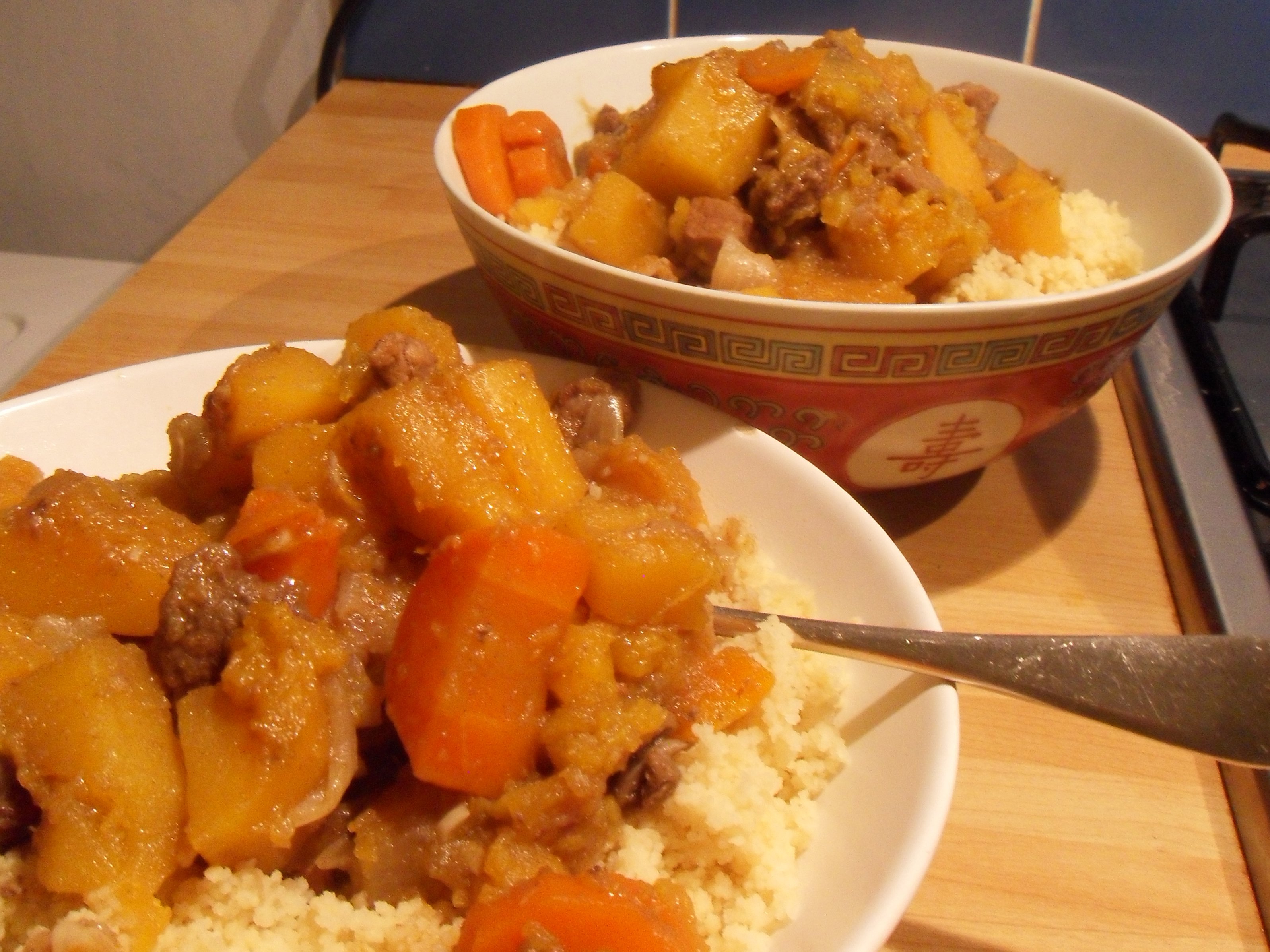 Moroccan Beef Tagine with Butternut Squash