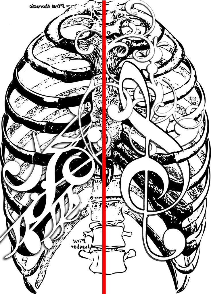 Trace Image on Linoleum