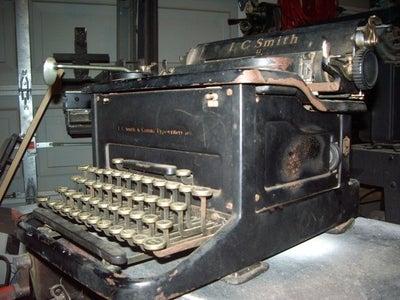 Restoring a 1937 Typewriter