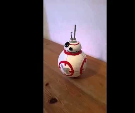 BB-8 made with Lego parts