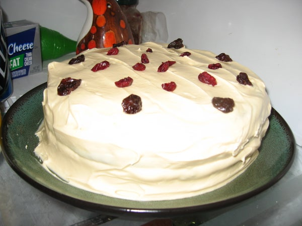 How to Make Pumpkin Spice Cake With Layers and Frosting and Everything!