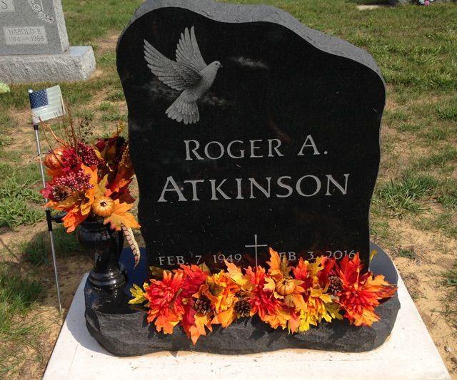 Gravestone Flower Arrangement