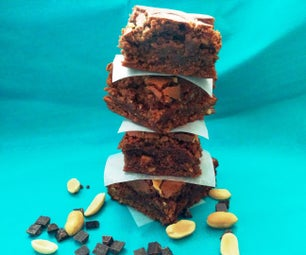 How to Make Peanut Butter Brownies