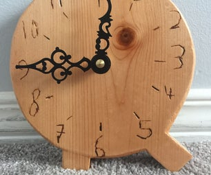 Custom Letter Clock