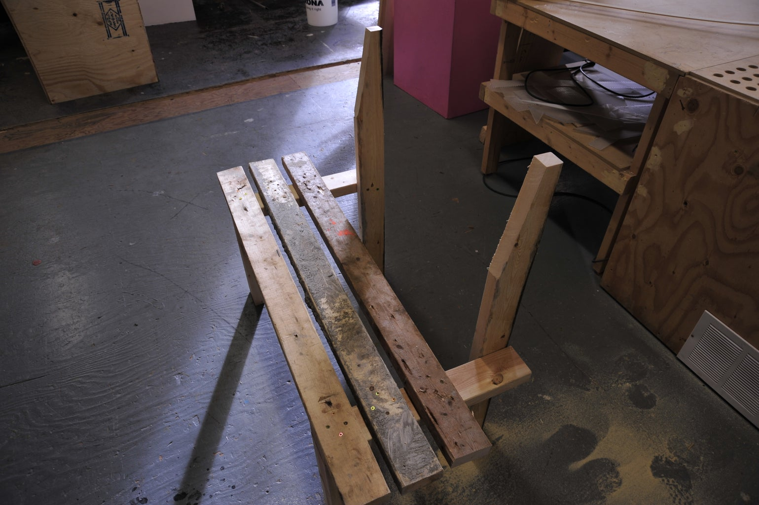Fasten the Planks