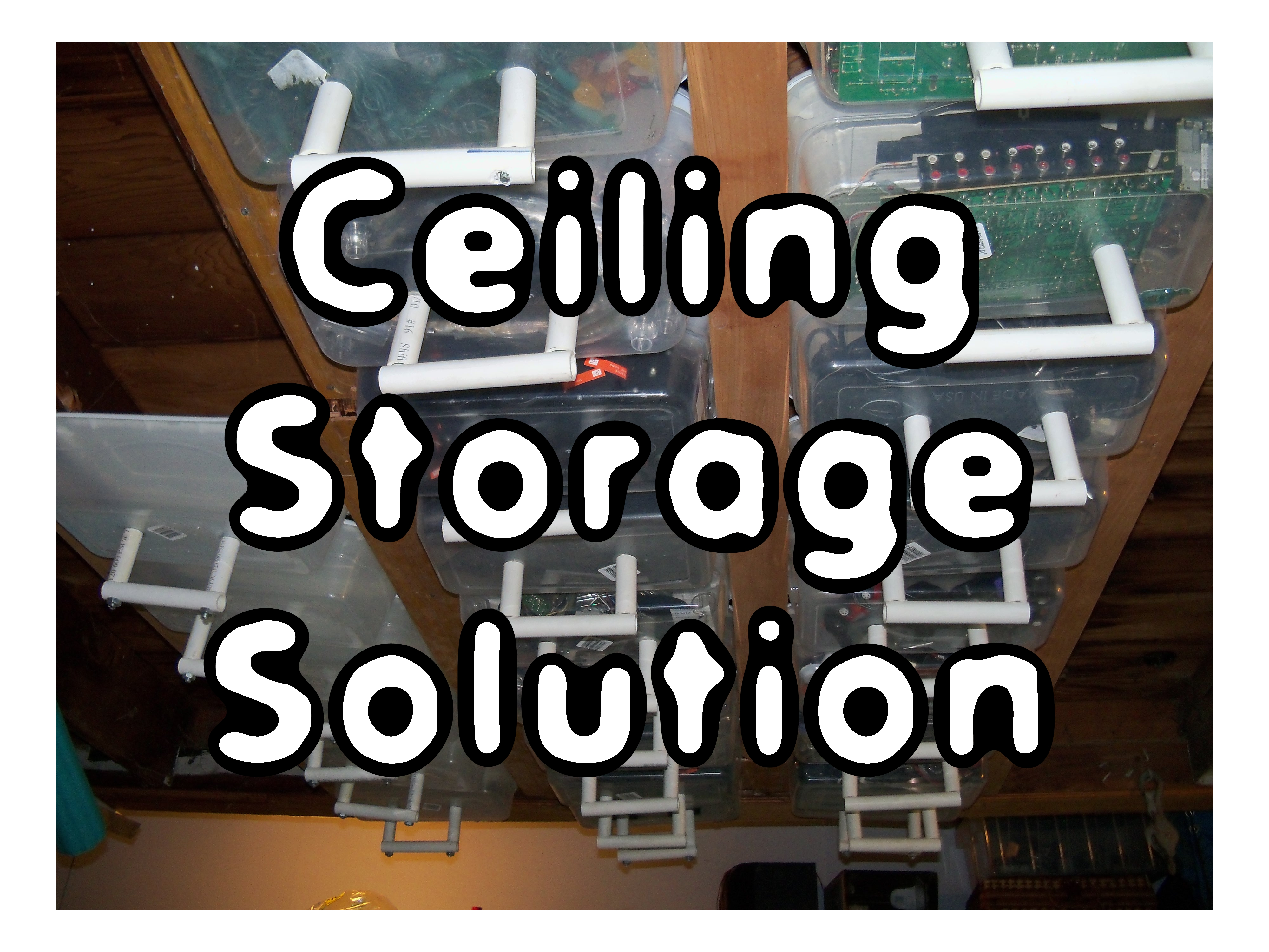 Ceiling Storage Solution
