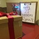 Lockable Gift Box