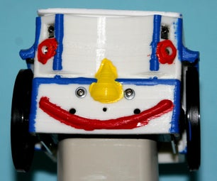 3D Printed Body for the Parallax BOE-Bot Robot ...