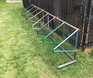 Bike Rack From Bikes