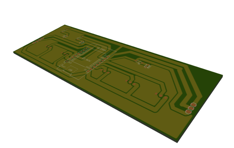 Touch Sensor and Microcontroller Layer