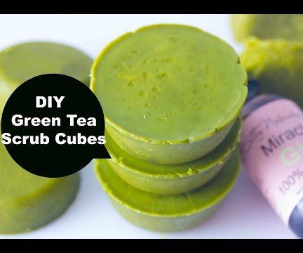 Green Tea Body Scrub Cups