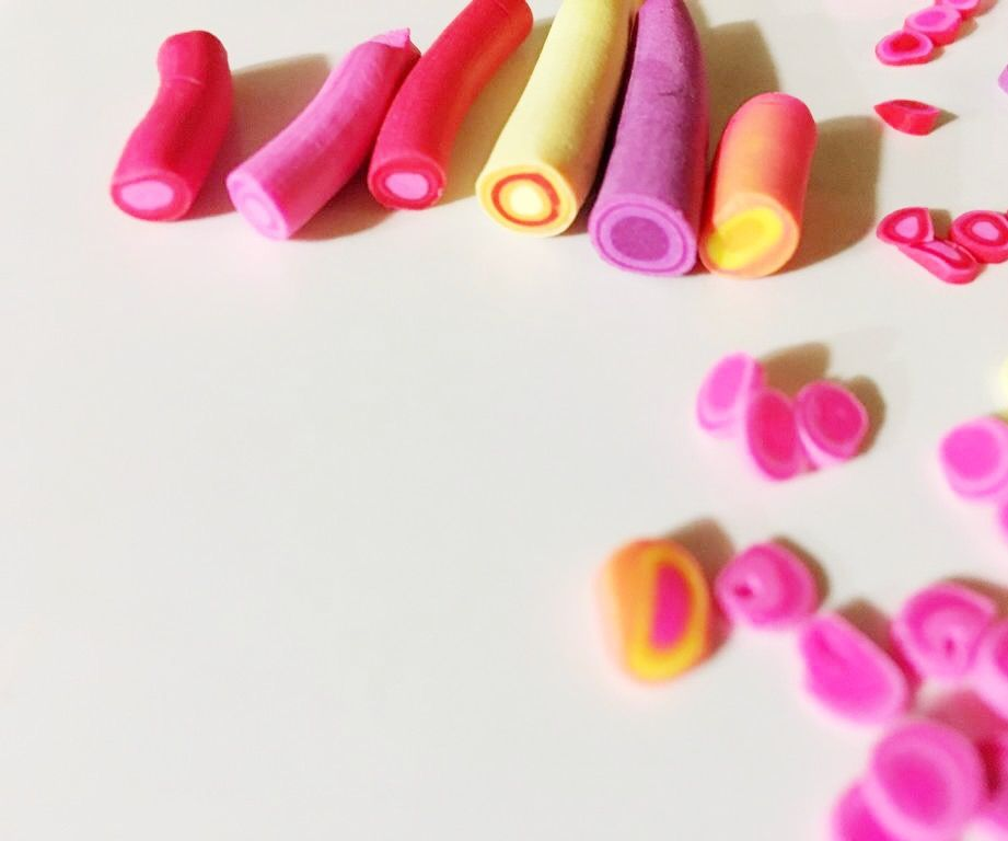 Polymer Clay Canes: Retro Dots