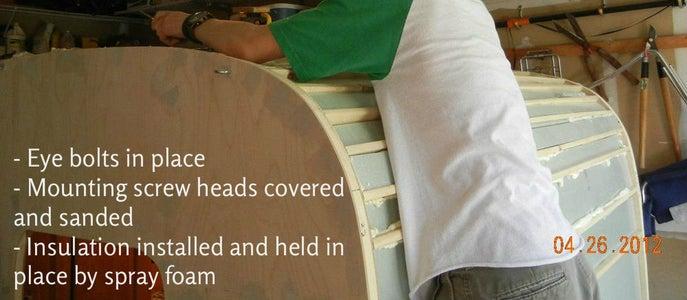 Insulation & Exterior Bulkhead