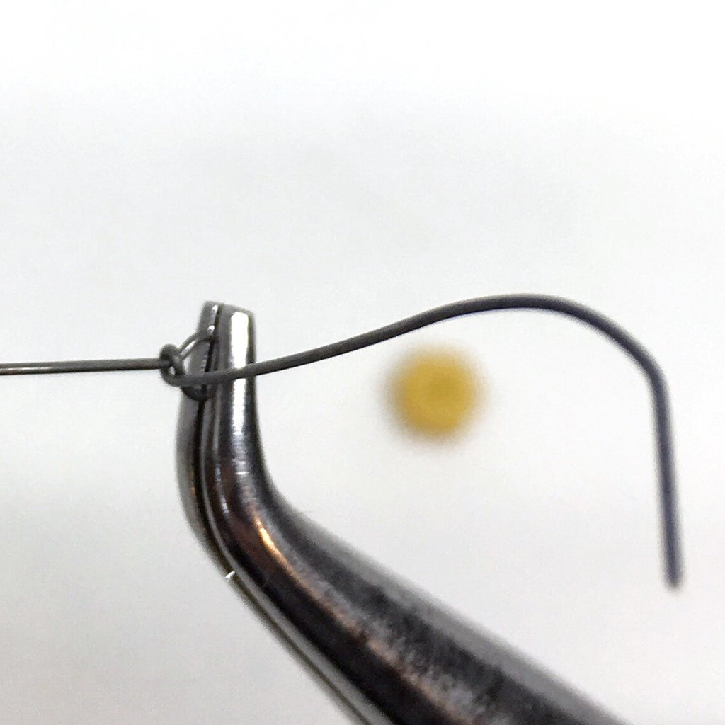 Wrap the Wire Once Around the Base of the Loop