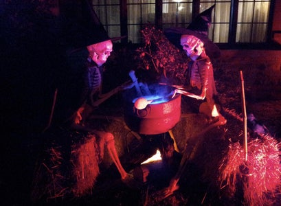 Enjoy Your New Halloween Decorations