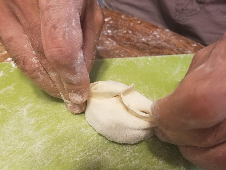 Step 5: Shaping the Mantu
