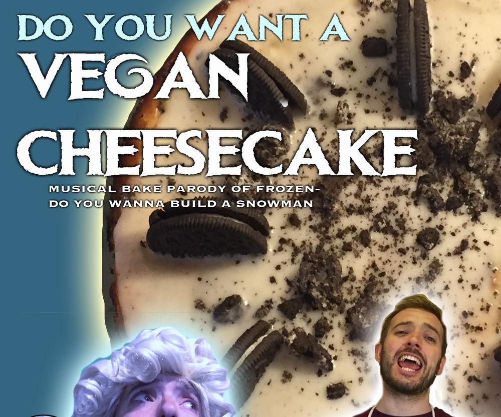 Vegan Cheesecake- the Musical Bake!