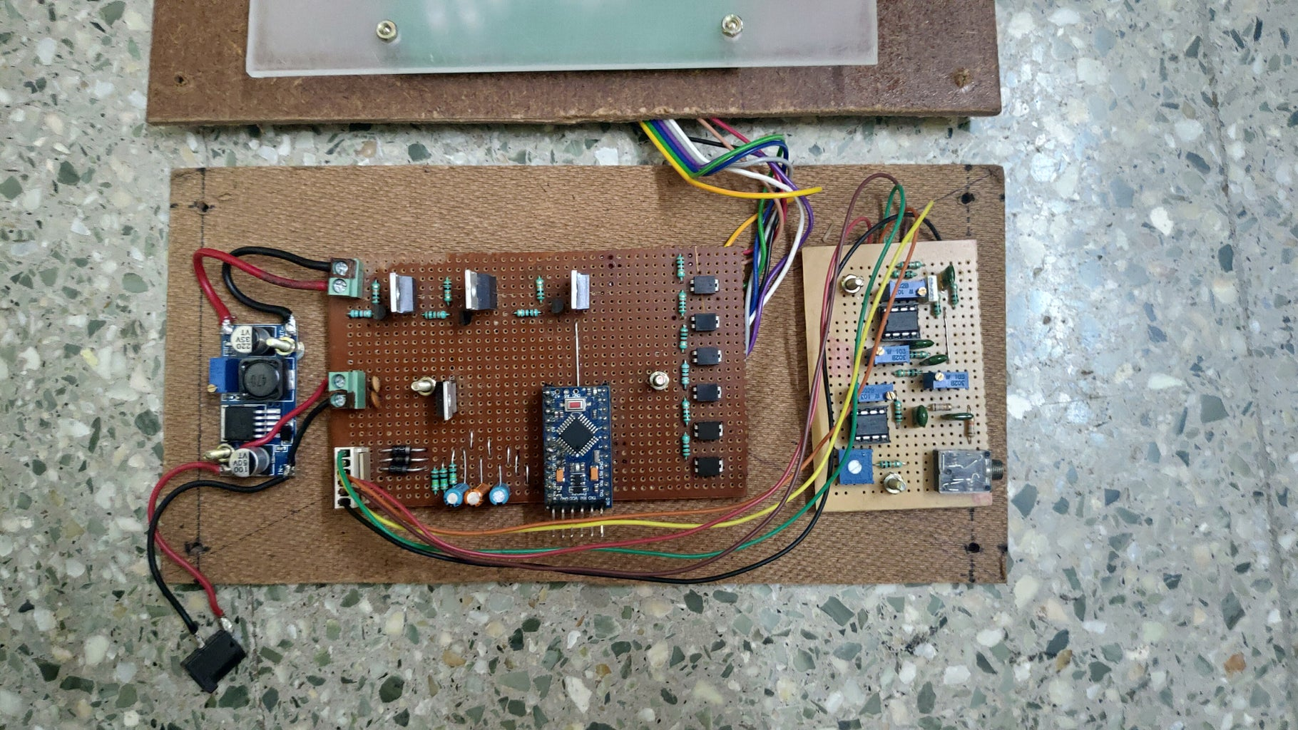 Casing and Wiring.