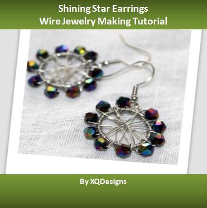 Shining Star Earrings Jewelry Making Tutorial