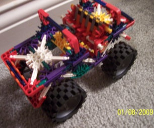 Knex Monster Jeep