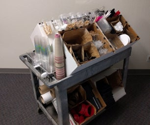 Portable Makerspace Supply Cart