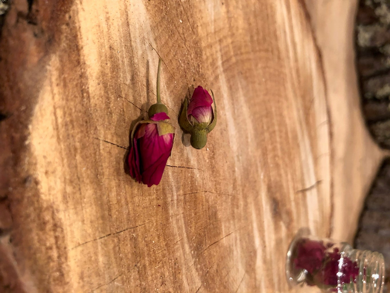 Add Desired Amount of Rose Buds