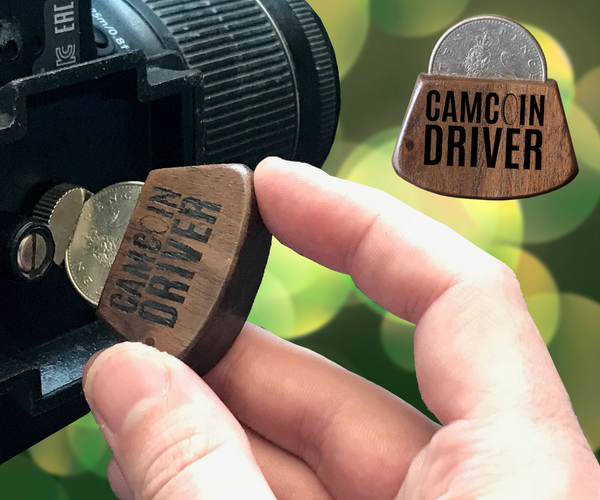 CAMCOIN DRIVER - Make a Tripod Mount Tool Using a Coin