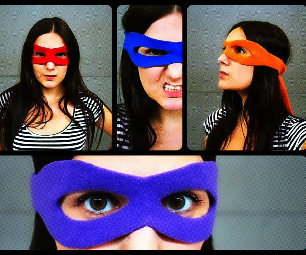 Superhero Mask Tutorial + Pattern